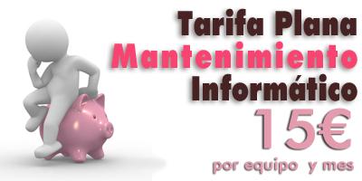 Mantenimiento informatico economico para empresas en Madrid